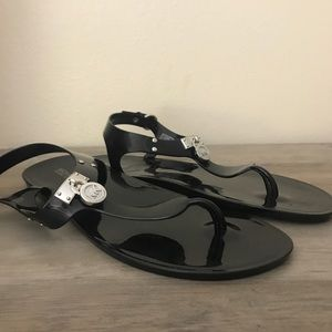 Michael Kors Jelly Sandals 10 NEW